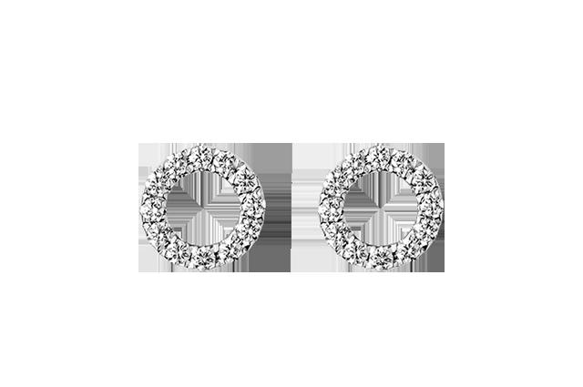 Petite øreringe i 18kt. – PØ2