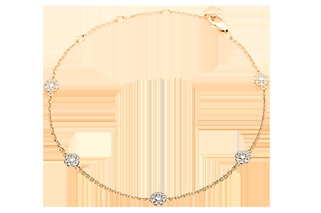 Armbånd med diamanter – BA100