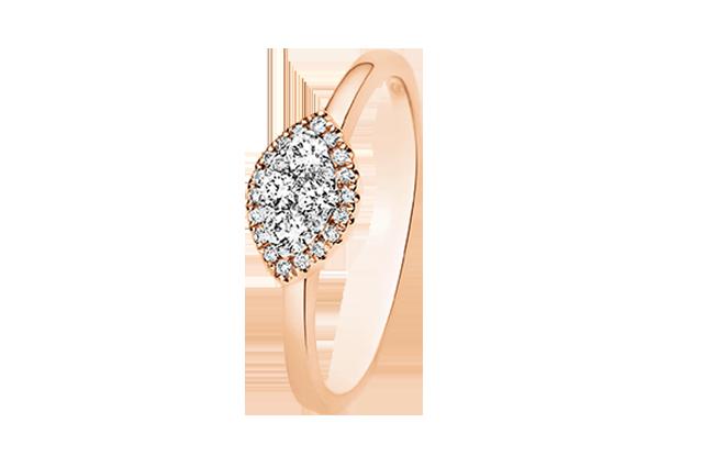 Ring med diamanter – BD4081