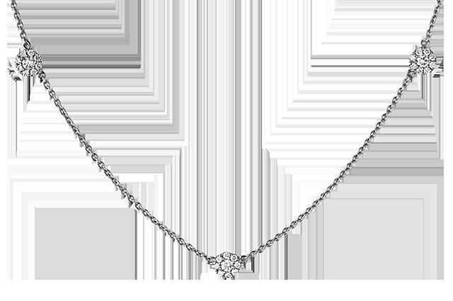 Halskæde med diamanter – BHC361