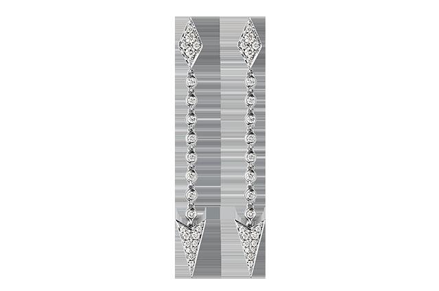 Ørering med diamanter – BØ1497