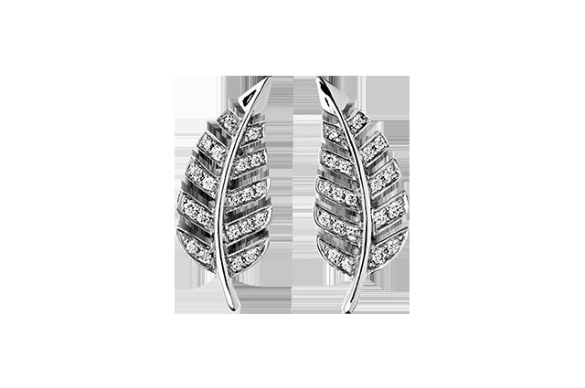 Ørering med diamanter – BØ1499