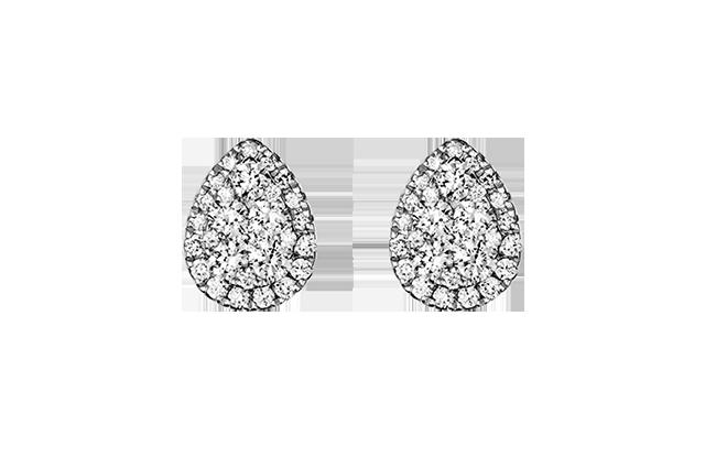 Ørering med diamanter – BØ1502