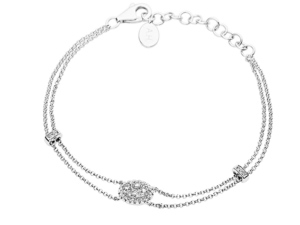 Bracelet with diamonds - BA395