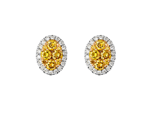 Earring with diamonds - BØ1503G